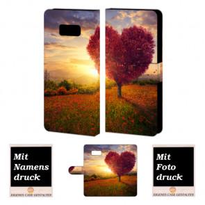Samsung Galaxy S8 Plus Personalisierte Handyhülle mit Foto Bild Druck Herzbaum