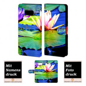 Samsung Galaxy S8 Plus Individuelle Handyhülle mit Fotodruck Lotosblumen