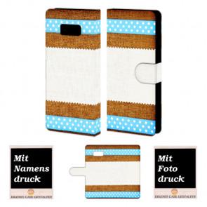 Samsung Galaxy S8 Plus Muster Handy Tasche Hülle Foto Bild Druck