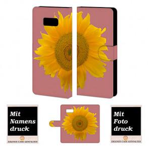 Sonnenblumen Tasche für Samsung Galaxy S8 Plus Hülle Foto Bilddruck