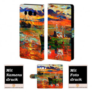 Samsung Galaxy J5 (2016) Gemälde Handy Tasche Hülle Foto Bild Druck