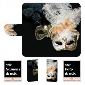 Schutzhülle Handy Tasche mit Bilddruck + Masken für Nokia 3 Etui