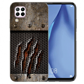 Huawei P40 Lite Silikon TPU Schutzhülle mit Bilddruck Monster-Kralle
