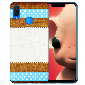 Silikon TPU Handy Hülle mit Fotodruck Muster für Huawei P Smart Plus