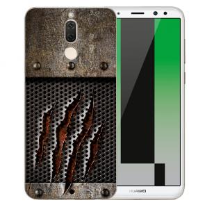 Huawei Mate 10 Lite Silikon TPU Hülle mit Bilddruck Monster-Kralle