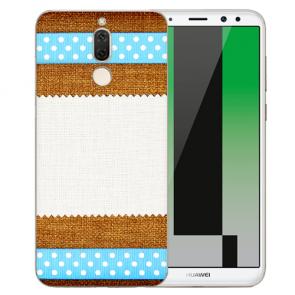 Huawei Mate 10 Lite Schutzhülle Silikon TPU mit Bilddruck Muster