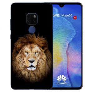 Huawei Mate 20 Silikon TPU Case Schutzhülle mit Bilddruck Löwe Etui