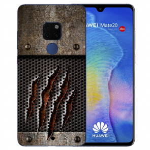 Huawei Mate 20 Silikon TPU Hülle mit Bilddruck Monster-Kralle