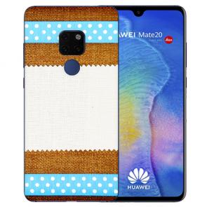 Huawei Mate 20 Schutzhülle Silikon TPU Hülle mit Bilddruck Muster