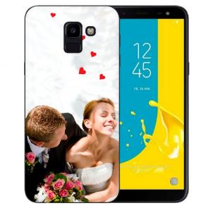 Schutzhülle TPU Silikon mit Fotodruck Case für Samsung Galaxy J6 (2018)