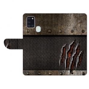 Handy Hülle mit Bild Druck Monster-Kralle für Samsung Galaxy A21s