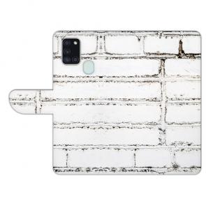 Samsung Galaxy A21s Personalisierte Handyhülle mit Weiße Mauer Bilddruck