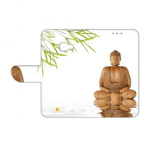Samsung Galaxy Xcover 4s Handy Hülle mit Frieden buddha Fotodruck