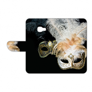 Handy Hülle mit Foto Druck Venedig Maske für Samsung Galaxy Xcover 4s