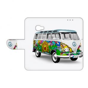 Handy Hülle für Samsung Galaxy Xcover 4s mit Foto Druck Hippie Bus Etui