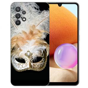 Samsung Galaxy A32 4G Schutzhülle Silikon TPU Fotodruck Venedig Maske
