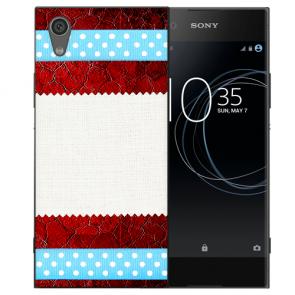 Silikon TPU Handy Hülle für Sony Xperia L1 mit Muster Bild Namen Druck