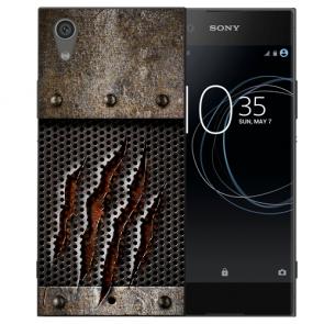Sony Xperia L1 Silikon TPU Handy Hülle mit Bild Druck Monster-Kralle