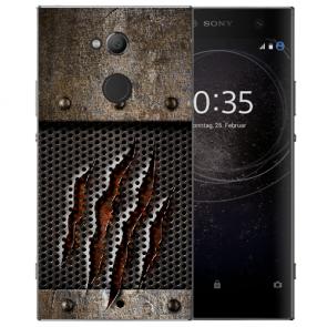 Sony Xperia L2 Handy Hülle Silikon TPU mit Fotodruck Monster-Kralle