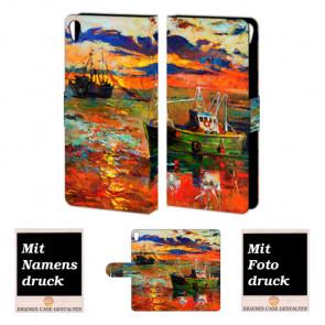 Personalisierte Handyhülle mit Fotodruck Gemälde für Sony Xperia E5