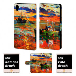 Sony Xperia C6 Personalisierte Handy Hülle mit Gemälde Bilddruck