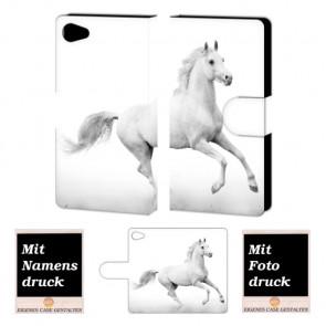 Sony Xperia Z5 Mini Personalisierte Handy Hülle mit Pferd Foto Druck