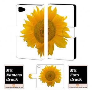 Sony Xperia Z5 Mini Handyhülle mit Fotodruck Sonnenblumen