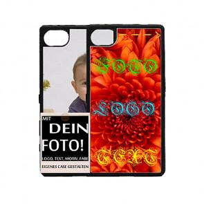 2D Hülle für Sony Xperia Z5 mini Hard Case mit Foto und Text zum selbst gestalten.