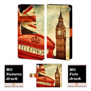 Sony Xperia Z5 Individuelle Handy Tasche mit Big Ben-London + Bilddruck