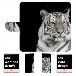 Sony Xperia XA3 Ultra Individuelle Handyhülle mit Tiger + Fotodruck Etui