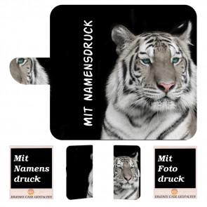 Samsung Galaxy Note 10 Plus Handyhülle mit Tiger Text Bilddruck