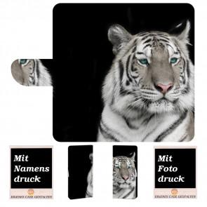 Samsung Galaxy S10 Plus Individuelle Handyhülle mit Tiger + Fotodruck