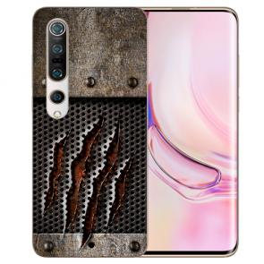 TPU Silikon Hülle mit Fotodruck Monster-Kralle Xiaomi Mi 10 Pro Etui