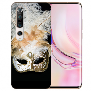 TPU Silikon Hülle mit Fotodruck Venedig Maske für Xiaomi Mi 10 Pro