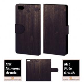 Xiaomi Mi 3 Holz Optik Handy Tasche Hülle Foto Bild Druck