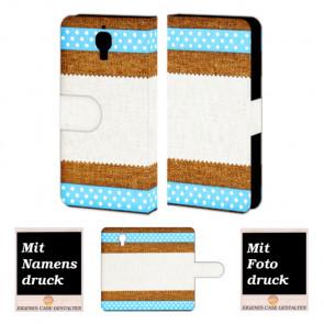 Xiaomi Mi 4 Muster Handy Tasche Hülle Foto Bild Druck