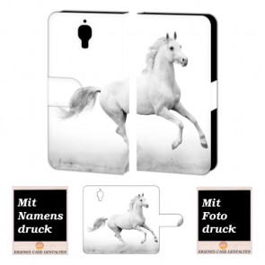 Xiaomi Mi 4 Pferd Handy Tasche Hülle Foto Bild Druck