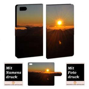 Xiaomi Mi 3 Sonnenaufgang Handy Tasche Hülle Foto Bild Druck