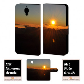 Xiaomi Mi 4 Sonnenaufgang Handy Tasche Hülle Foto Bild Druck