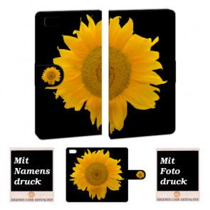 Xiaomi Mi 3 Sonnenblumen Handy Tasche Hülle Foto Bild Druck
