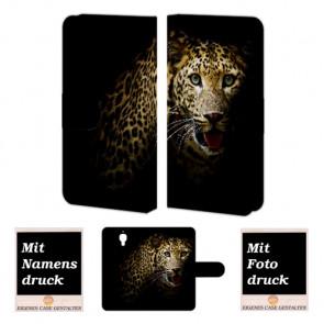 Xiaomi Mi 4 Tiger Handy Tasche Hülle Foto Bild Druck