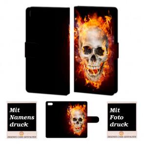 Xiaomi Mi 3 Totenschädel Handy Tasche Hülle Foto Bild Druck