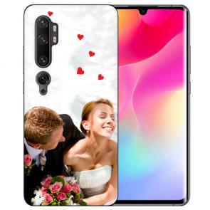 Xiaomi Mi CC9 Pro Schutzhülle TPU Silikon mit Fotodruck Case