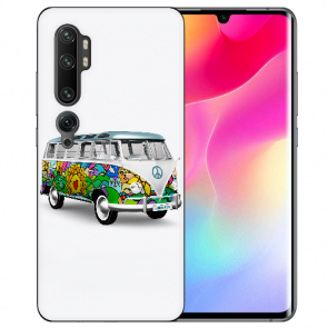 Silikon TPU Hülle mit Fotodruck Hippie Bus für Xiaomi Mi CC9 Pro