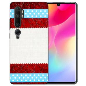 Silikon TPU Hülle für Xiaomi Mi CC9 Pro mit Fotodruck Muster