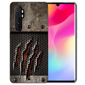 Xiaomi Mi Note 10 Lite Silikon TPU Hülle Case mit Bilddruck Monster-Kralle